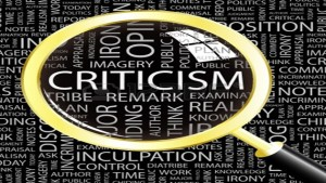 Focus on critisicm