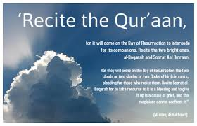 The Merits of Reciting the Glorious Qur'an