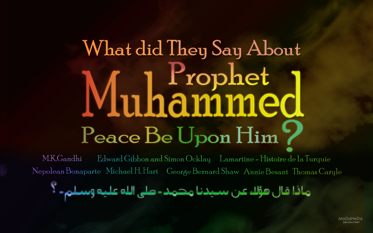 What Did They Say about the Prophet Muhammad?