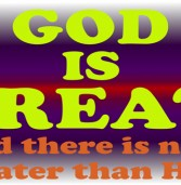 God (Allah) is the Most Great