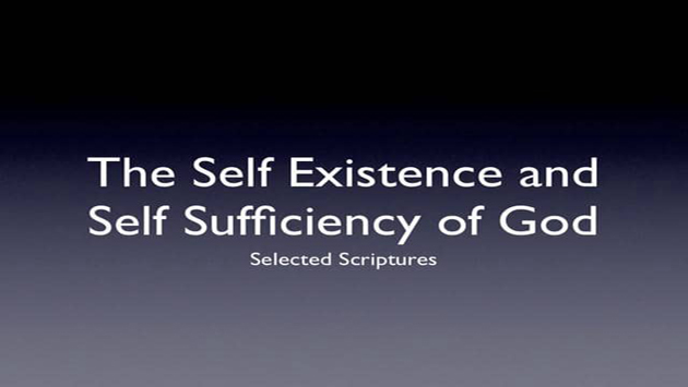 God (Allah) is the Self-sufficient