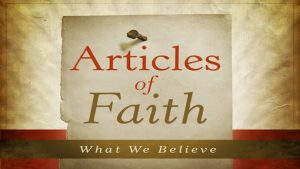 Articles of Muslim Faith