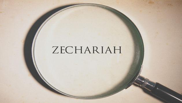 Prophet Zechariah