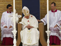 Pope Benedict sleeping in Malta