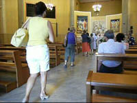 No dress code in church
